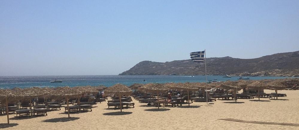 mykonos beach prices